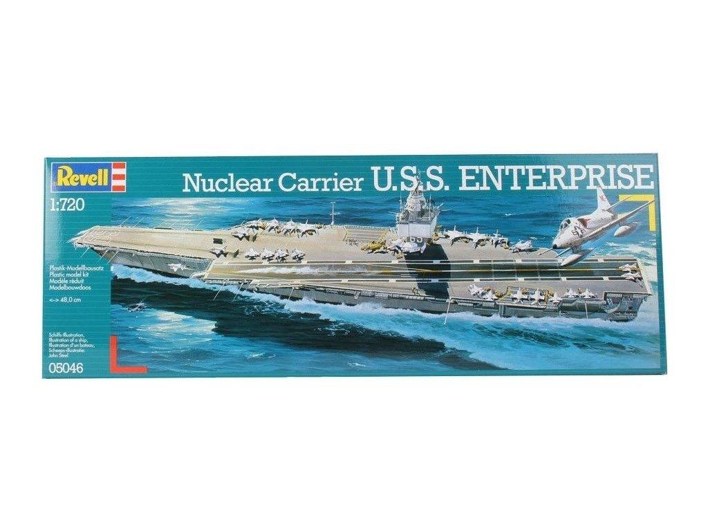 3155 plastovy model lod revell 05046 u s s enterprise 1 720