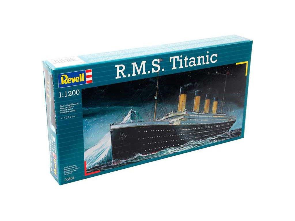 3170 plastovy model lod revell 05804 r m s titanic 1 1200