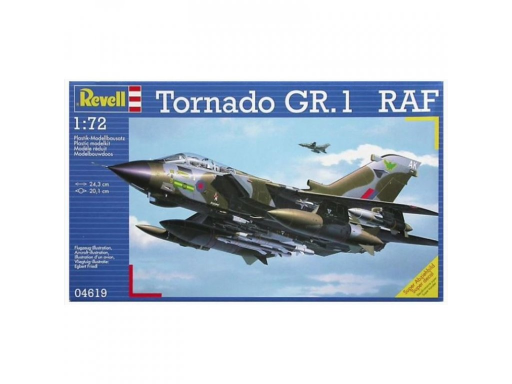 3185 plastovy model lietadlo revell 04619 tornado gr 1 raf 1 72