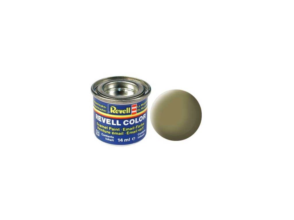 3215 farba revell emailova 32142 matna olivovo zlta olive yellow mat