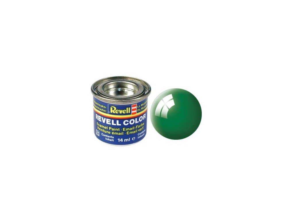 3236 farba revell emailova 32161 leskla smaragdovo zelena emerald green gloss