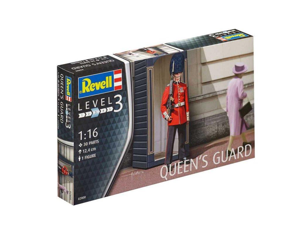 3254 plastovy model figurka revell 02800 queen s guard 1 16