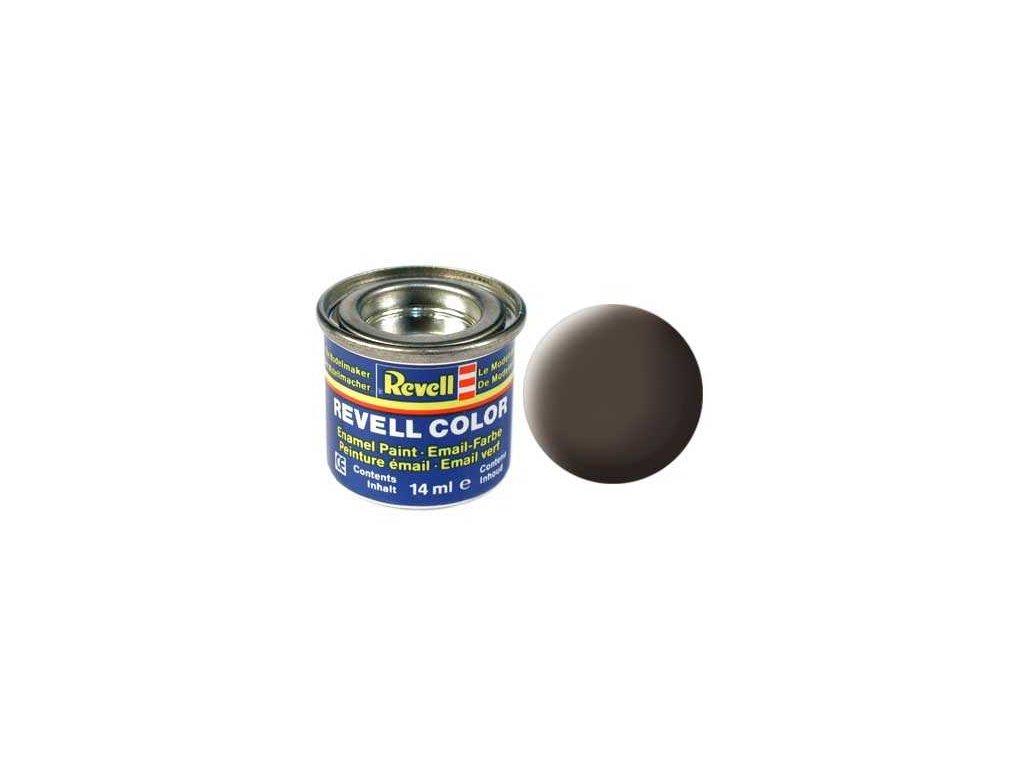 3263 farba revell emailova 32184 matna kozeno hneda leather brown mat