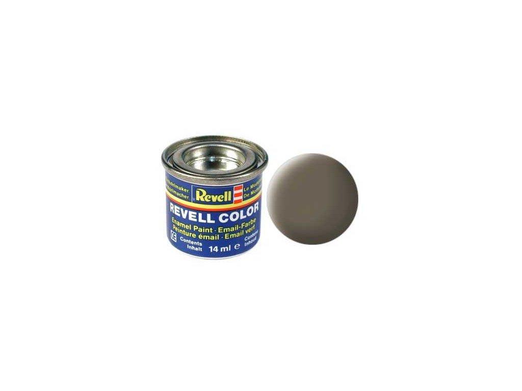3266 farba revell emailova 32186 matna olivovo hneda olive brown mat