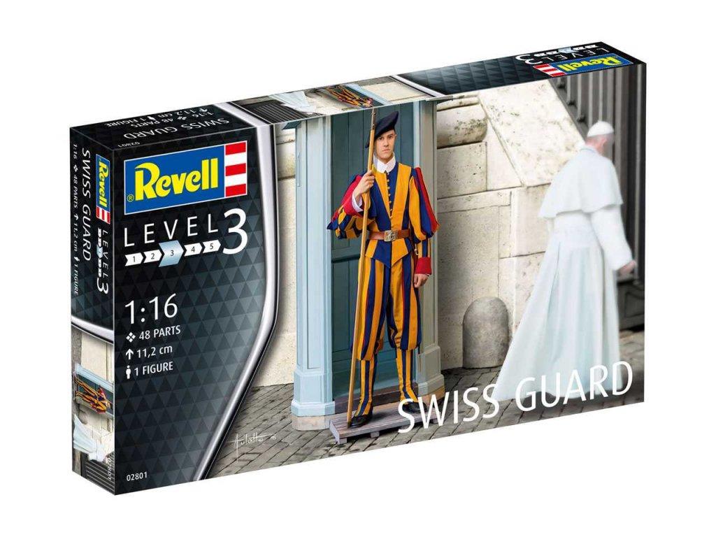 3287 plastovy model figurka revell 02801 swiss guard 1 16