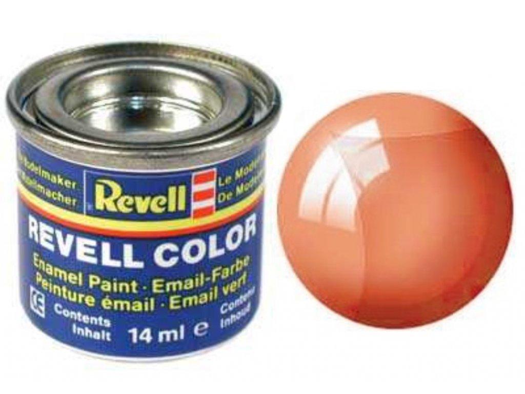 3326 farba revell emailova 32730 transparentna oranzova orange clear