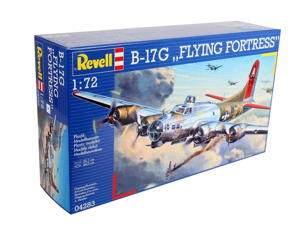 3344 plastovy model lietadlo revell 04283 b 17g flying fortress 1 72