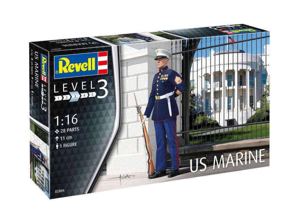3362 plastovy model figurka revell 02804 us marine 1 16