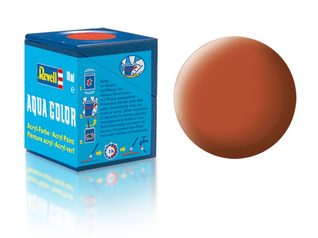 3392 farba revell akrylova 85 matna hneda brown matt