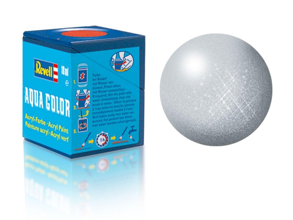 3395 farba revell akrylova 99 metalicka hlinikova aluminium metallic