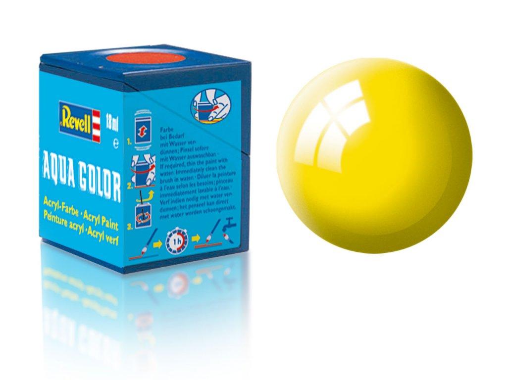 3422 farba revell akrylova 12 leskla zlta yellow gloss