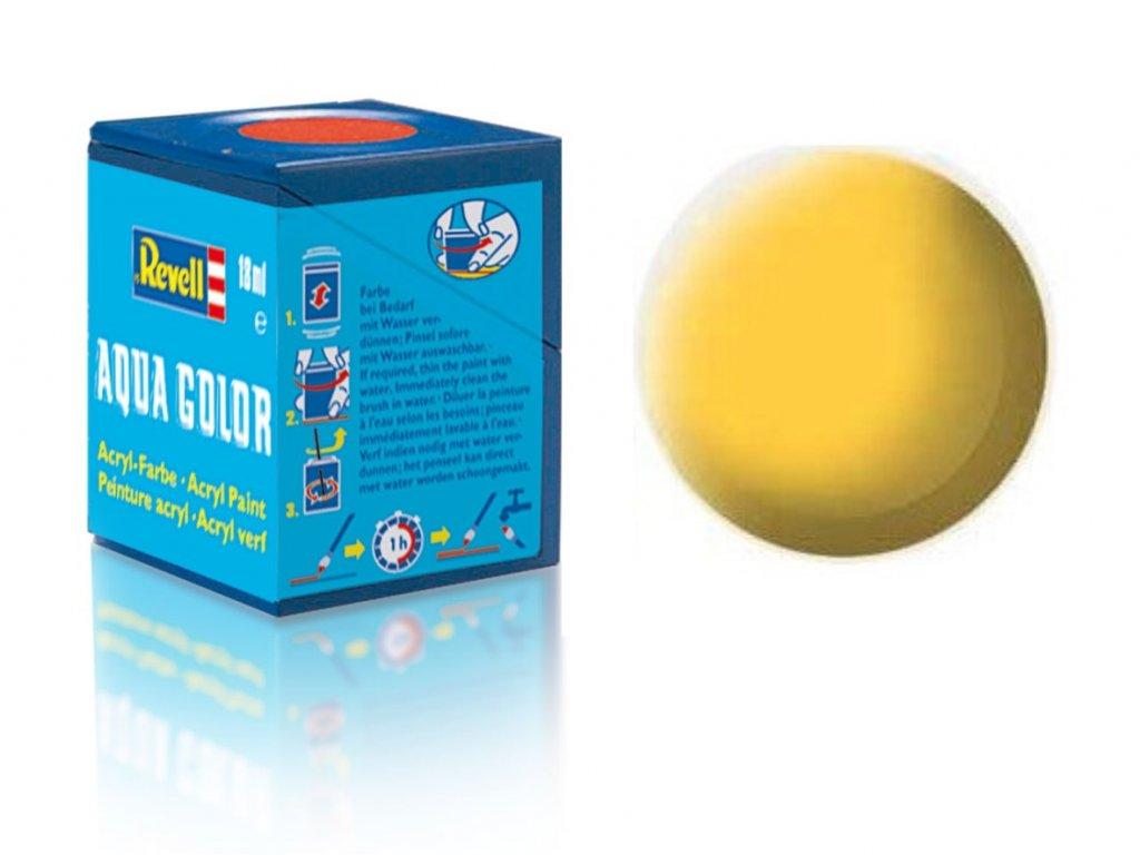 3425 farba revell akrylova 15 matna zlta yellow matt