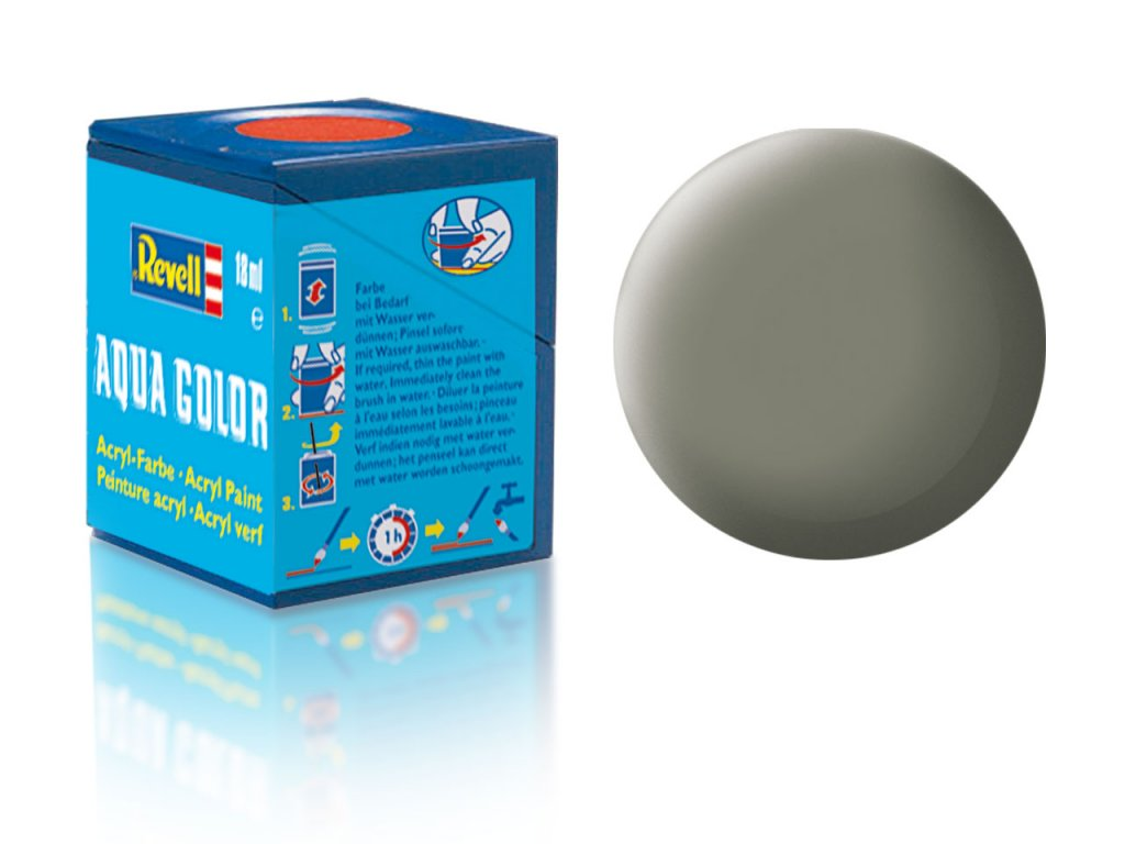 3464 farba revell akrylova 45 matna svetlo olivova light olive matt