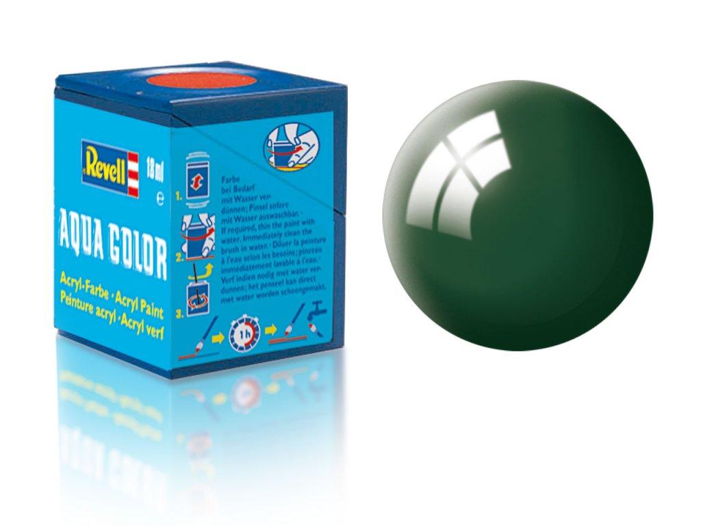 3503 farba revell akrylova 62 leskla morska zelen sea green gloss
