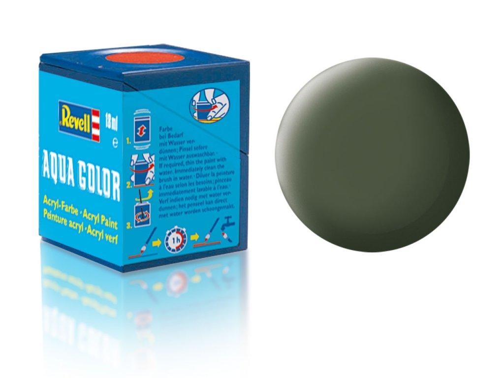 3506 farba revell akrylova 65 matna bronzovo zelena bronze green matt