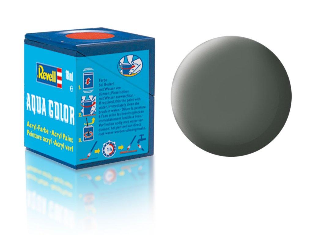 3509 farba revell akrylova 66 matna olivovo seda olive grey matt