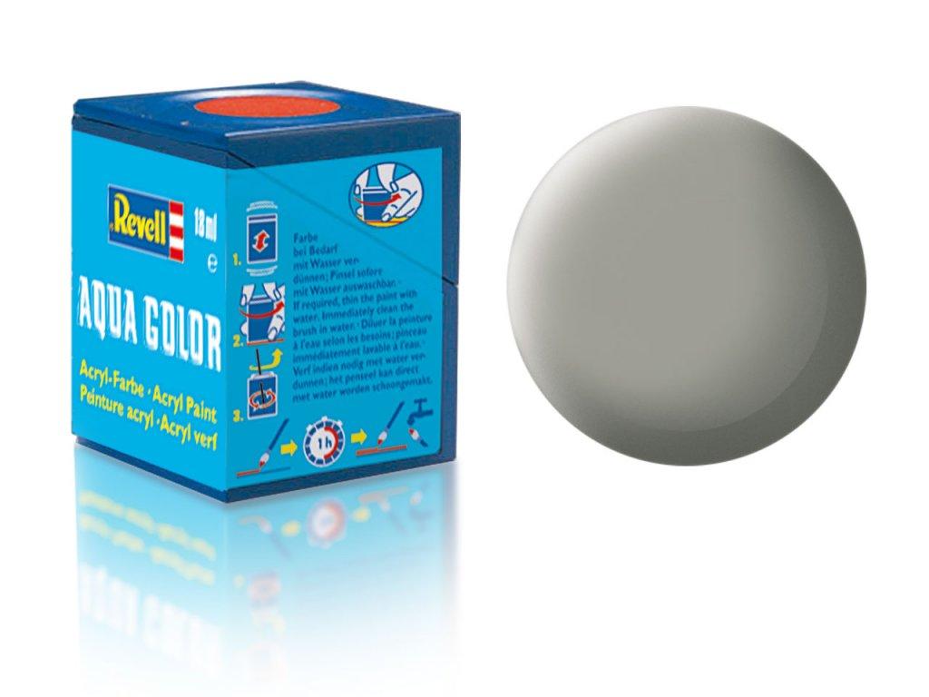 3527 farba revell akrylova 75 matna kamenno seda stone grey matt