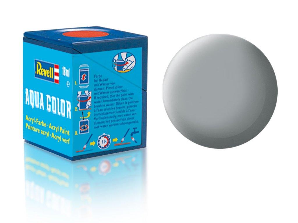 3530 farba revell akrylova 76 matna svetlo seda light grey matt usaf