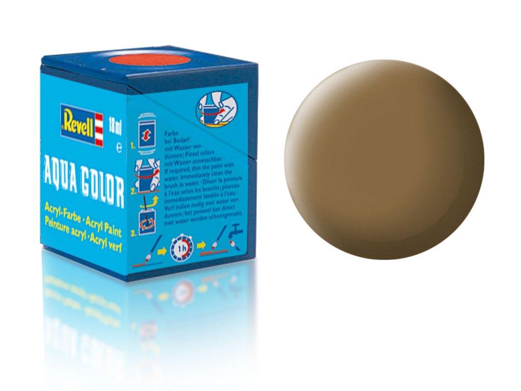 3545 farba revell akrylova 82 matna hlinena raf dark earth mat raf