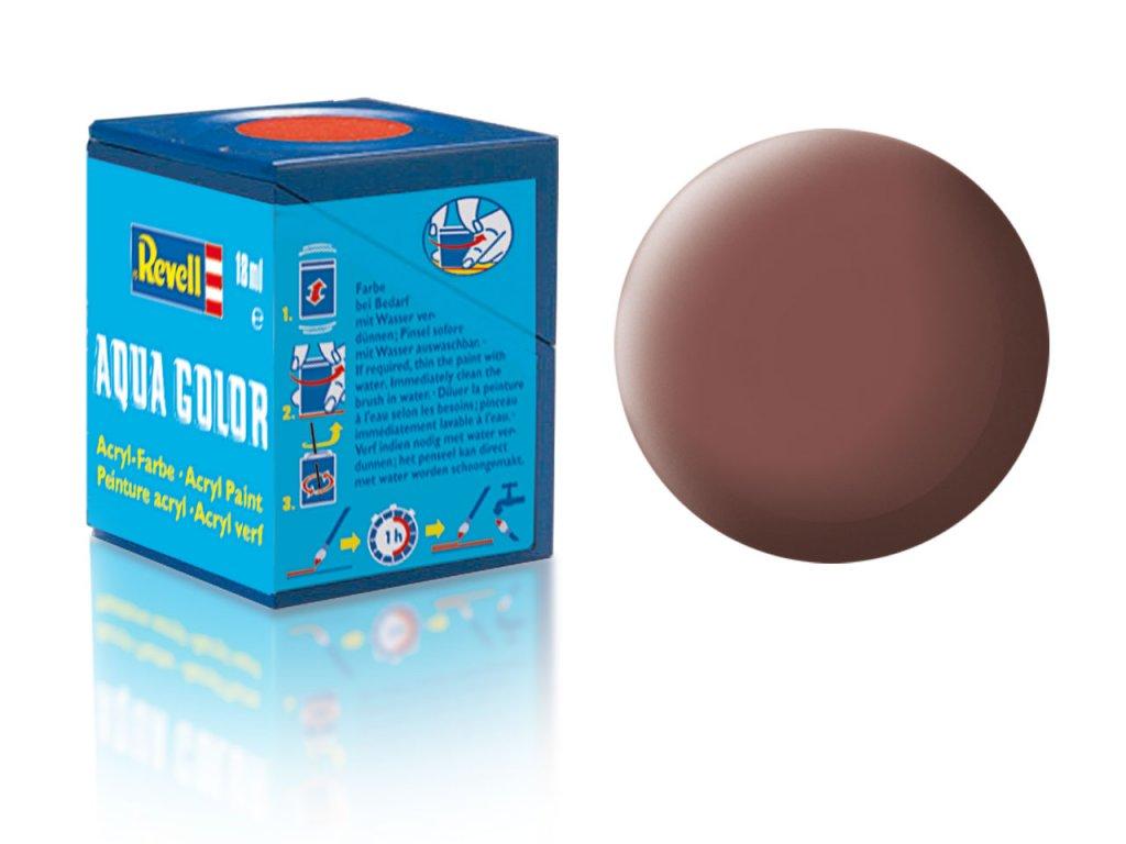 3548 farba revell akrylova 83 matna hrdzava rust matt