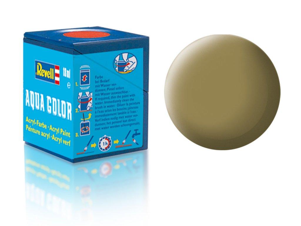 3557 farba revell akrylova 86 matna olivovo hneda olive brown matt