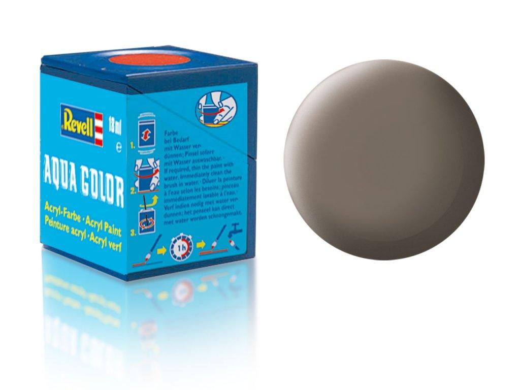 3560 farba revell akrylova 87 matna zemito hneda earth brown matt