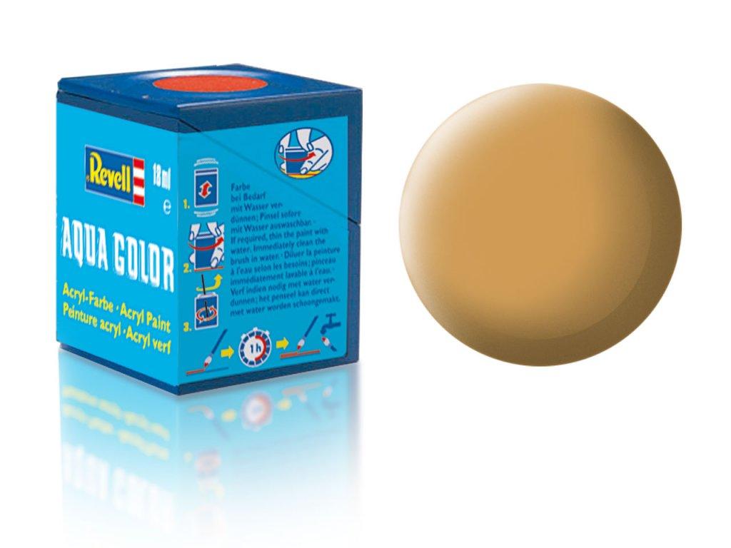 3563 farba revell akrylova 88 matna okrovo hneda ochre brown matt