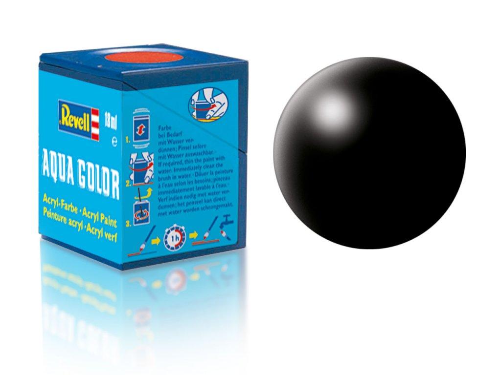 3590 farba revell akrylova 302 hodvabne matna cierna black silk