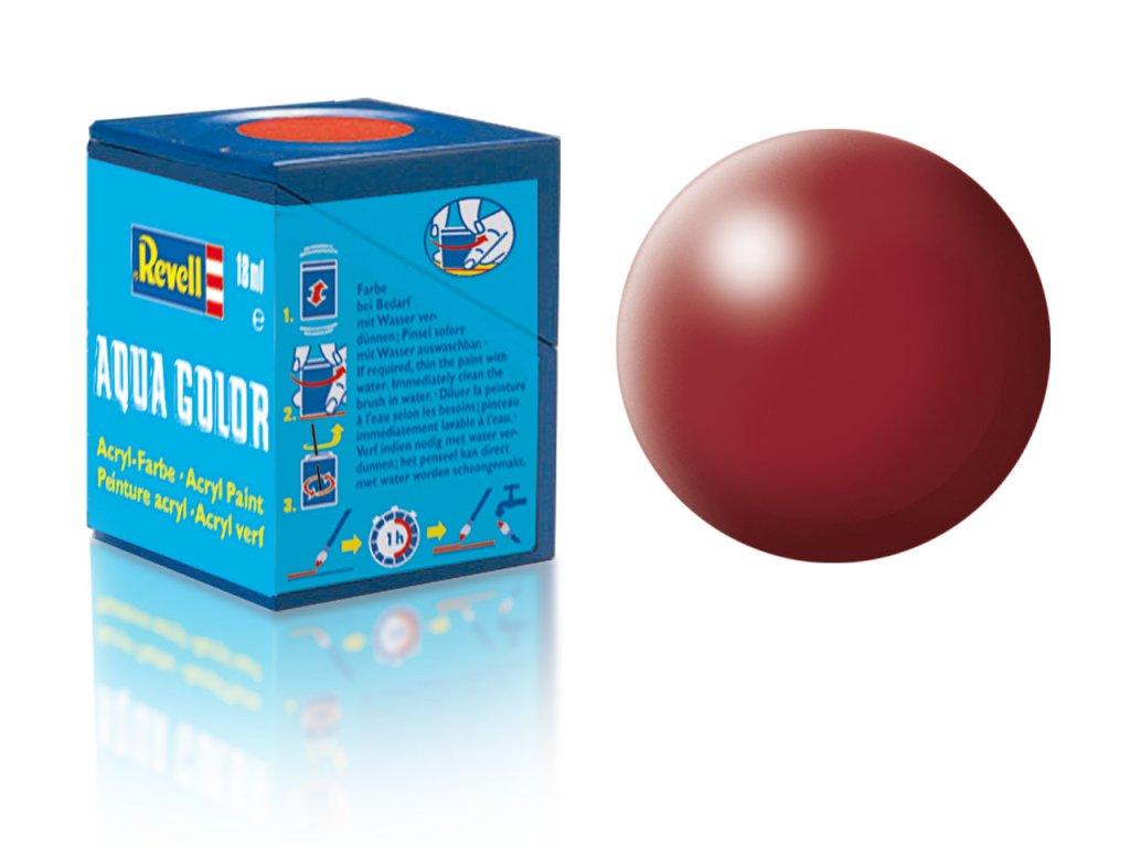 3605 farba revell akrylova 331 hodvabne matna nachovo cervena purple red silk