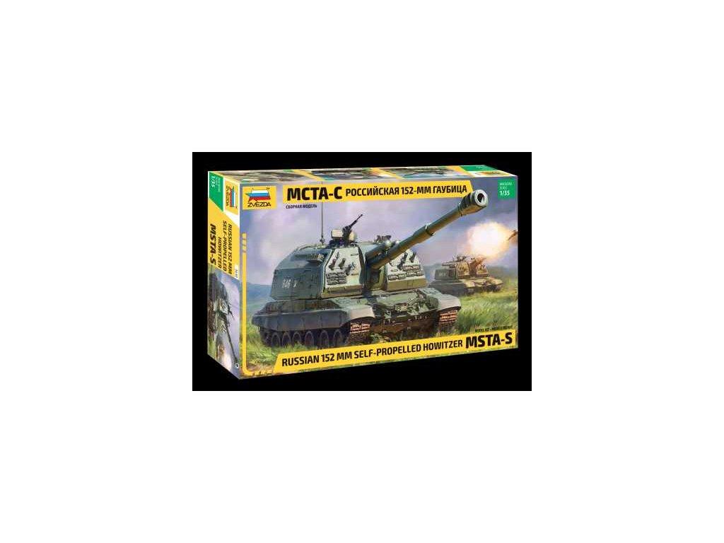 365 model kit military zvezda 3630 msta s 1 35