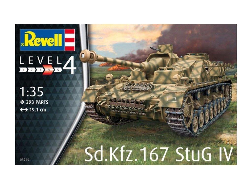 3695 plastovy model military revell 03255 sd kfz 167 stug iv 1 35