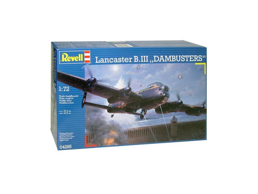 3722 plastovy model lietadlo revell 04295 avro lancaster dambusters 1 72