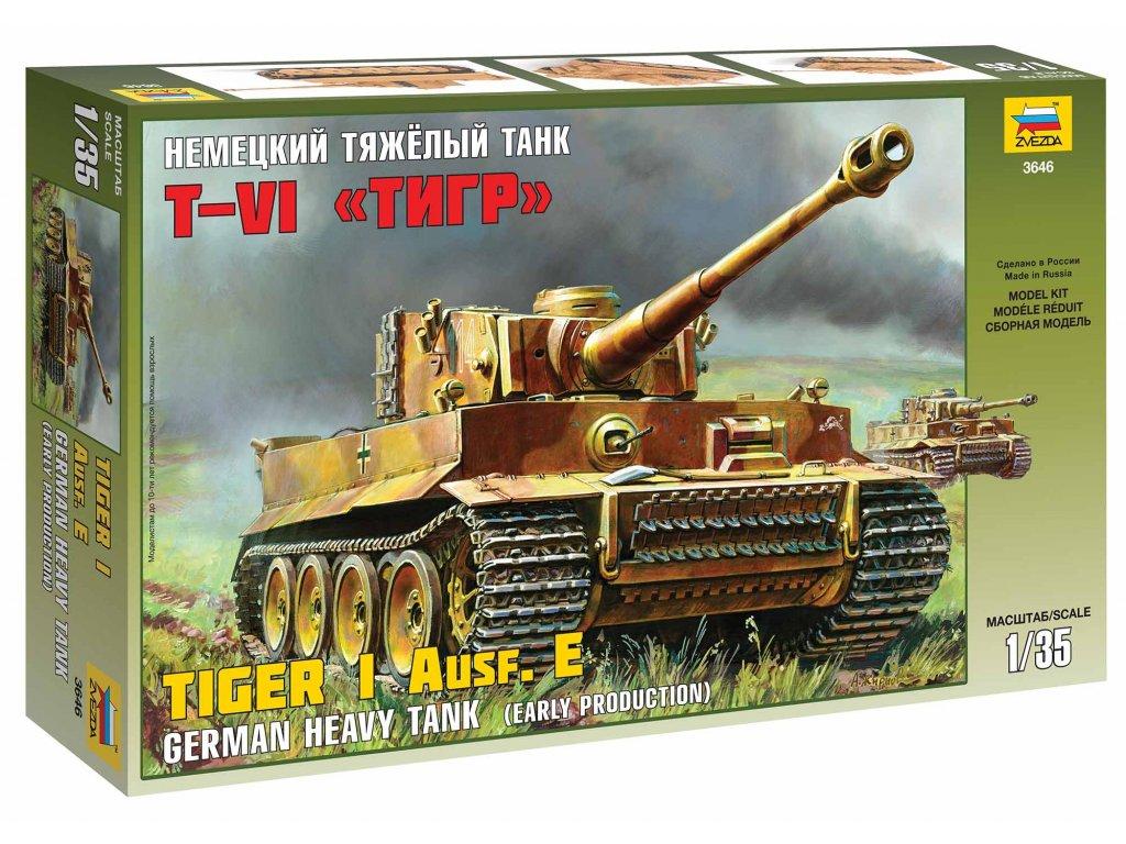 386 model kit tank zvezda 3646 tiger i early kursk 1 35