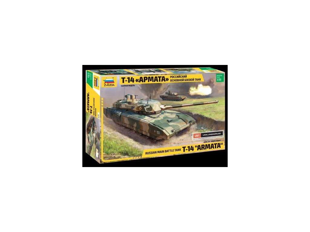 404 model kit tank zvezda 3670 russian modern tank t 14 armata 1 35