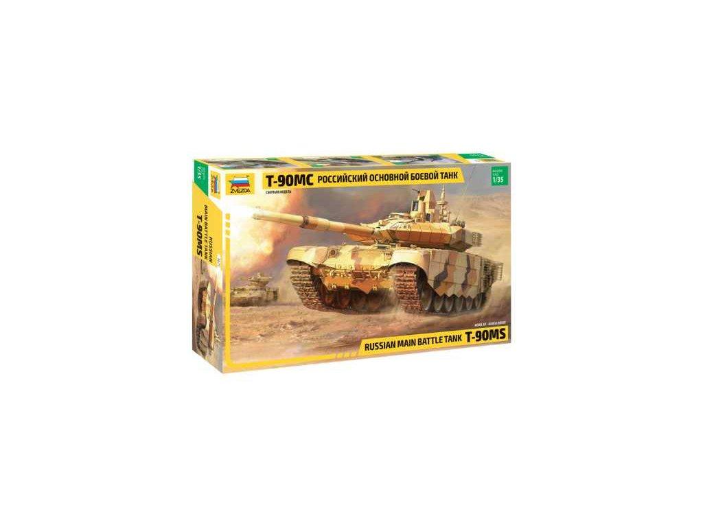 407 model kit tank zvezda 3675 t 90 ms russian mbt 1 35