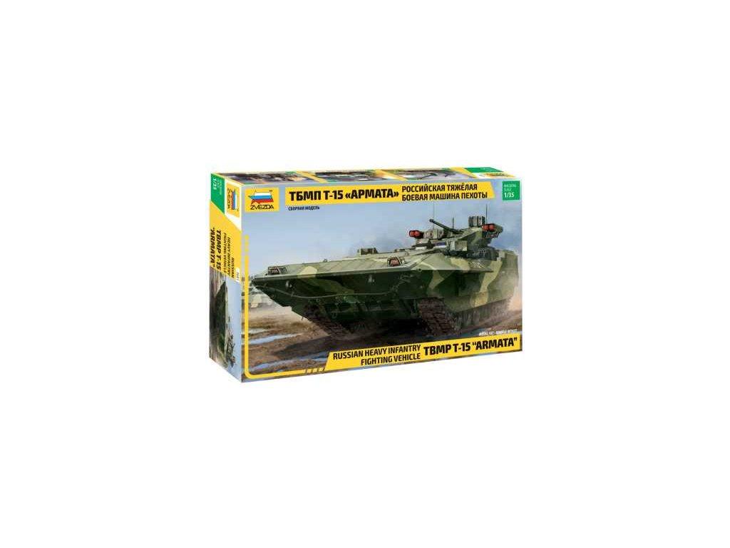 416 model kit military zvezda 3681 tbmp t 15 armata russ fighting vehicle 1 35