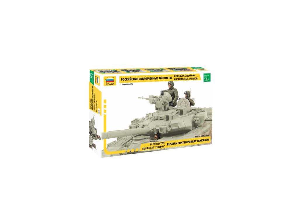 422 model kit figurky zvezda 3684 russian tank crew combat version 1 35