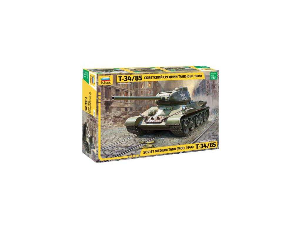 428 model kit tank zvezda 3687 soviet medium tank t 34 85 1 35