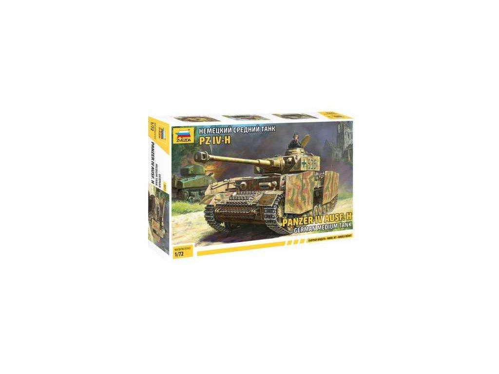 485 model kit tank zvezda 5017 panzer iv ausf h 1 72