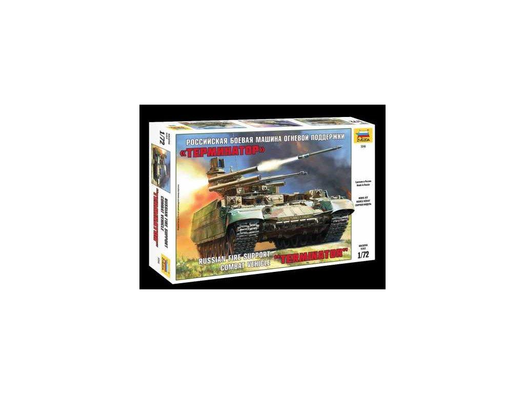 515 model kit military zvezda 5046 bmpt terminator 1 72