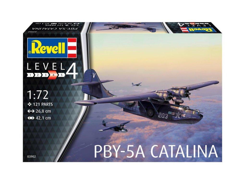 56 plastovy model lietadlo revell 03902 pby 5a catalina 1 72