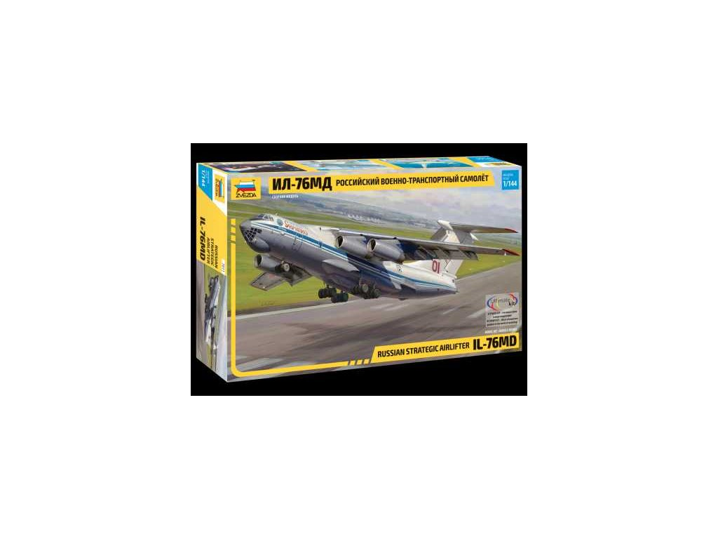 560 model kit lietadlo zvezda 7011 russian strategic airlifter il 76md 1 144