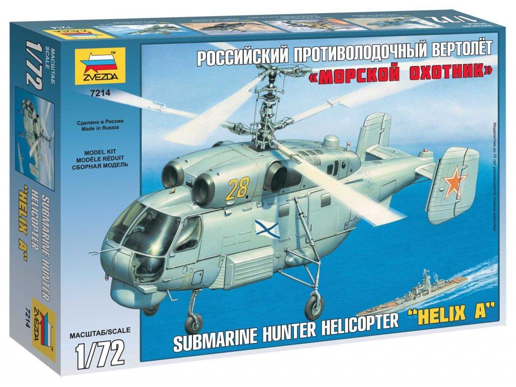 599 model kit vrtulnik zvezda 7214 kamov ka 27 submarine hunter 1 72