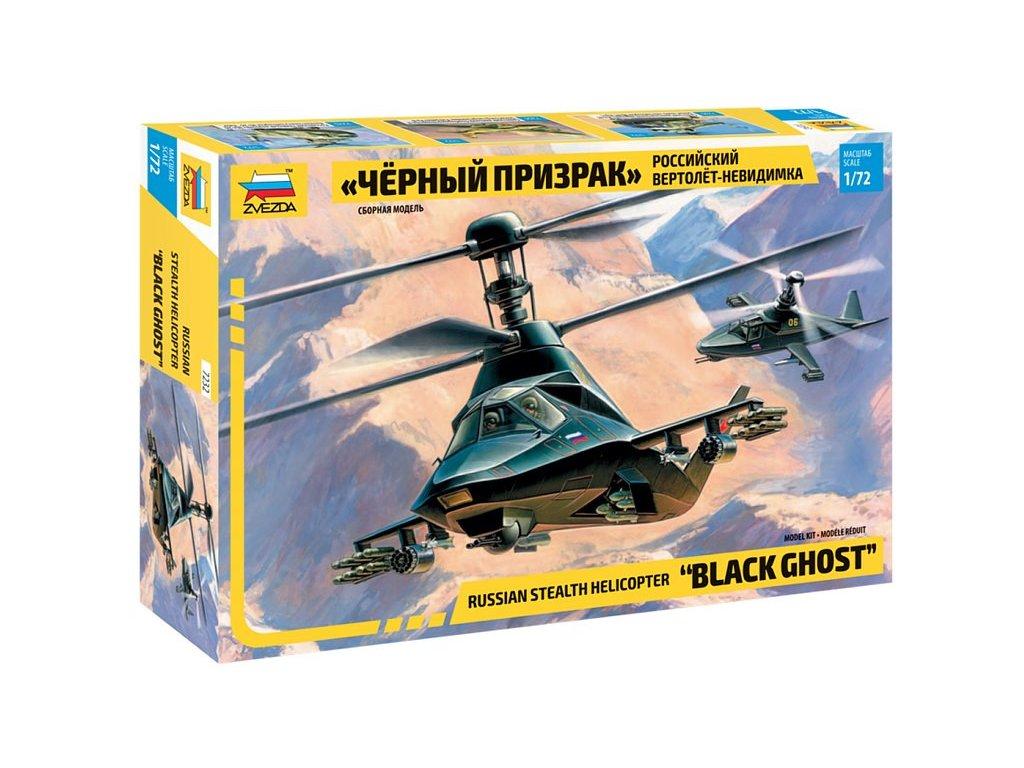 635 model kit vrtulnik zvezda 7232 kamov ka 58 black ghost 1 72