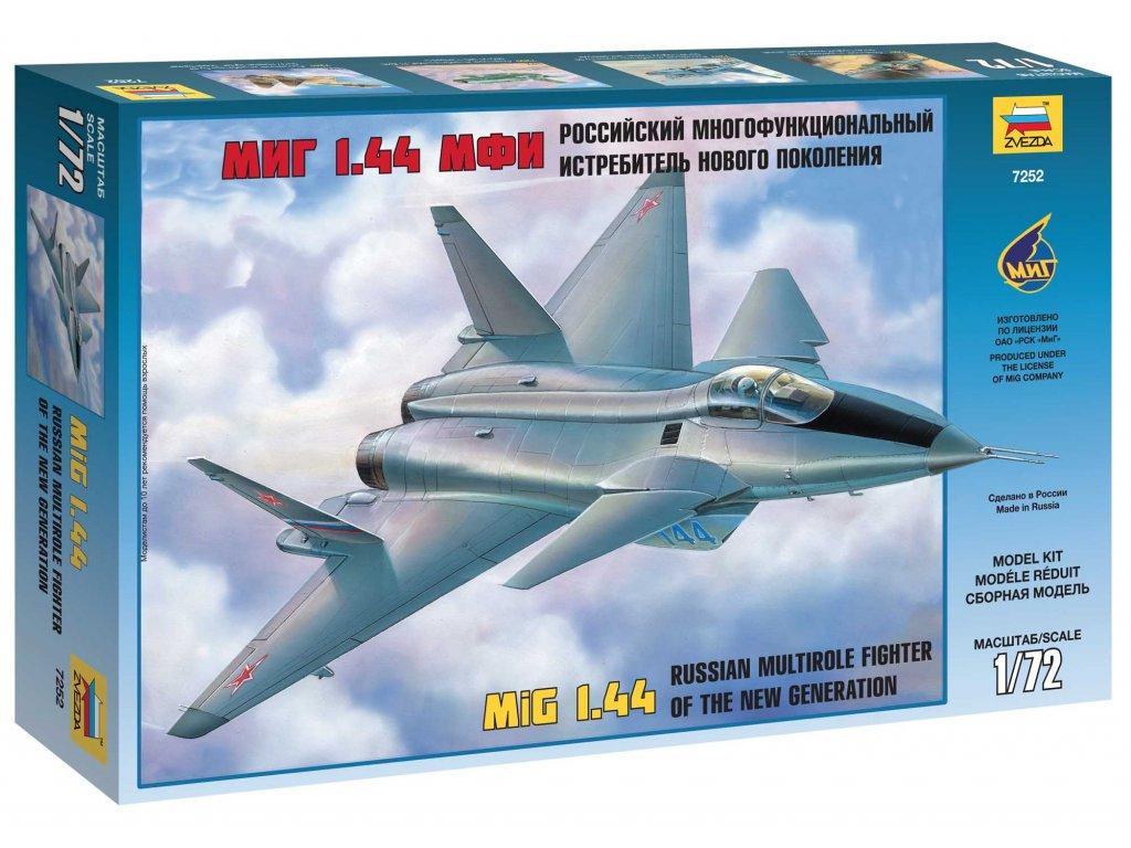 644 model kit lietadlo zvezda 7252 mig 1 44 russian multirole fighter 1 72