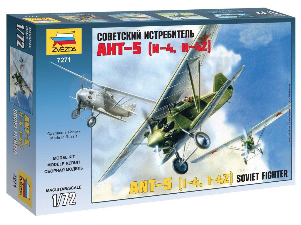 665 model kit lietadlo zvezda 7271 ant 5 1 72