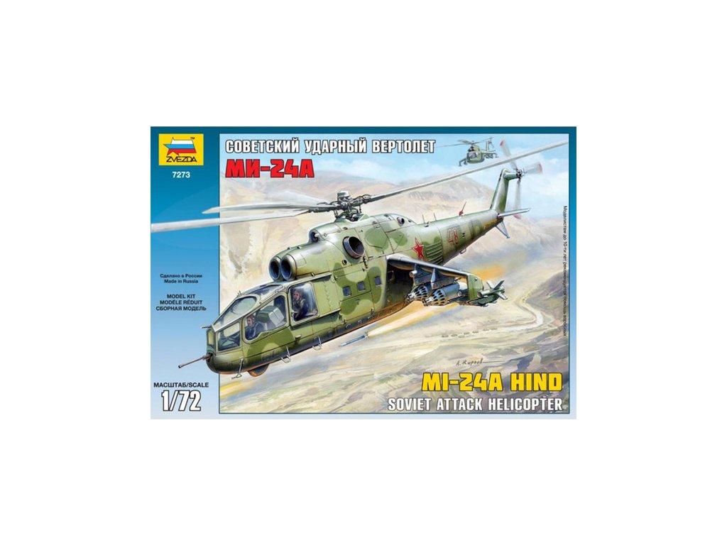 668 model kit vrtulnik zvezda 7273 mi 24a hind 1 72