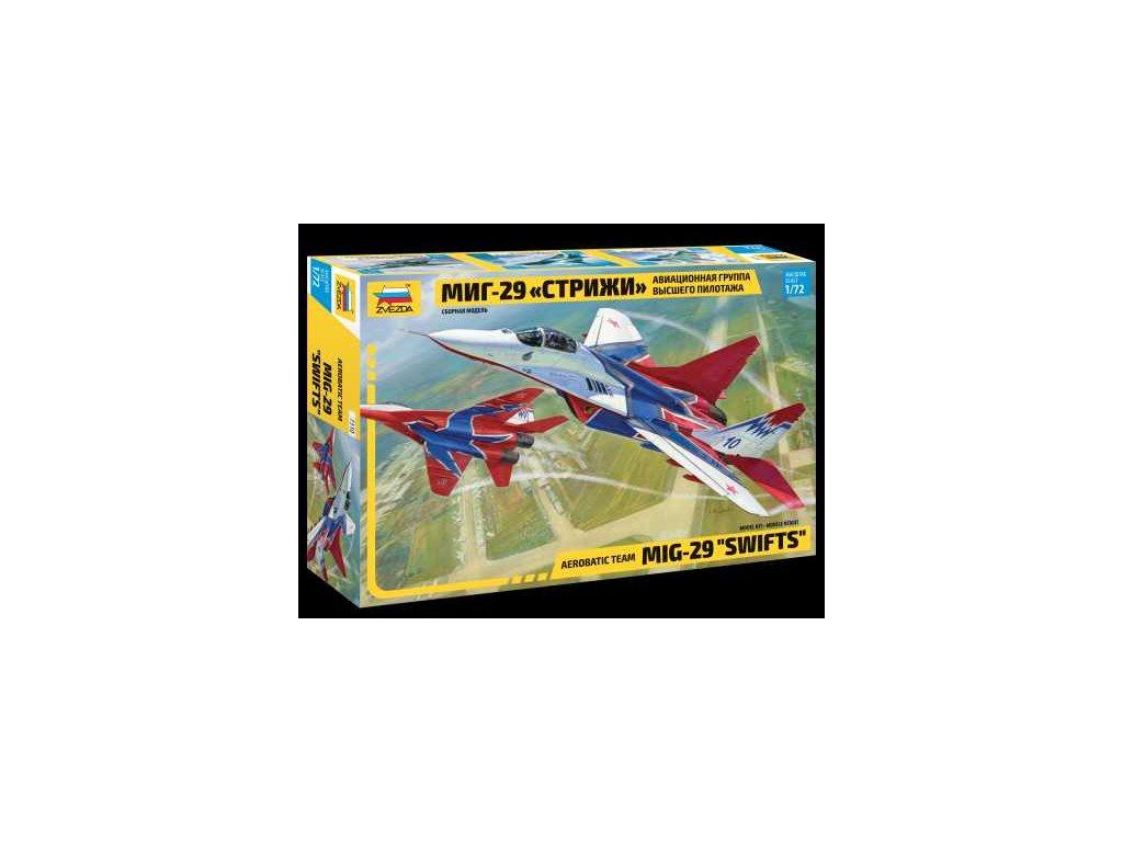 722 model kit lietadlo zvezda 7310 mig 29 swifts 1 72