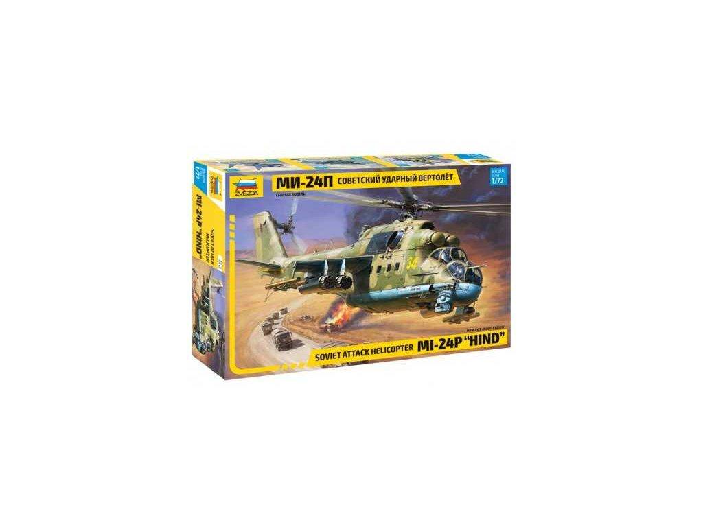 725 model kit vrtulnik zvezda 7315 mil 24p hind 1 72