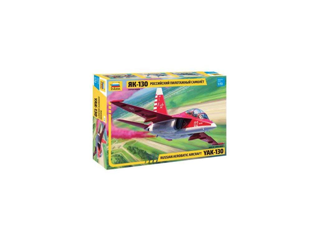 728 model kit lietadlo zvezda 7316 yak 130 1 72